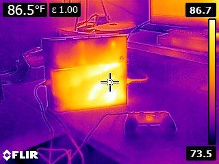 Playstation 4: Wärmebildkamera hält die Hitzeentwicklung der Next Gen Konsole fest