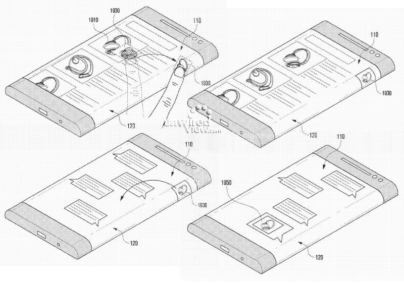 Samsung: Neues Smartphone mit rundum Display könnte schon 2014 kommen