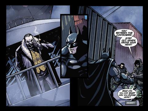 Batman: Arkham Origins – Die erste Comic Version für iOS verfügbar