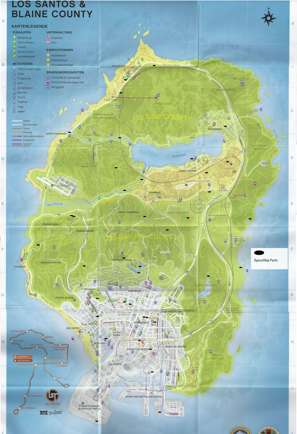 GTA 5 KARTE FUNDORTE DOWNLOAD