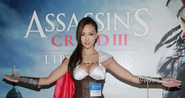 Assassin´s Creed 3 Cosplay – Jessica Cambensy