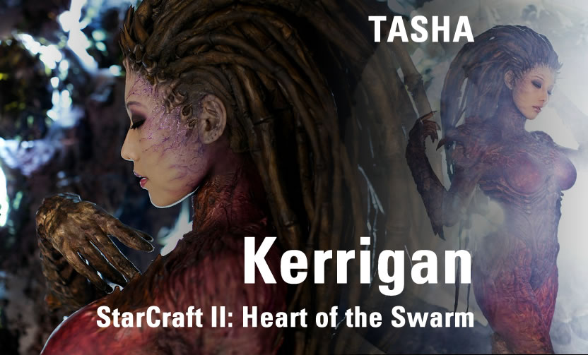 Tasha Cosplay: Kerrigan von StarCraft II : Heart of the Swarm