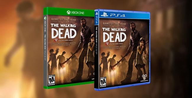 The Walking Dead Season 1+2 und The Wolf Among Us bestätigt für PS4 und Xbox One