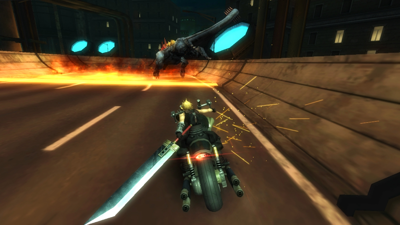 Final Fantasy VII G-Bike  jagd