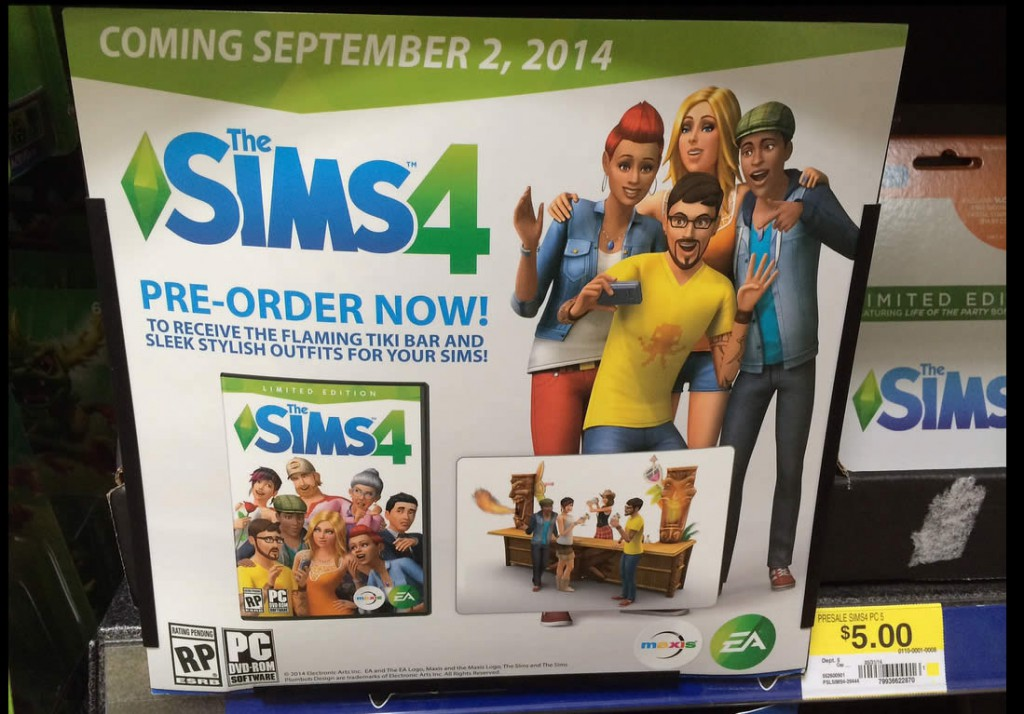 sims 4 release