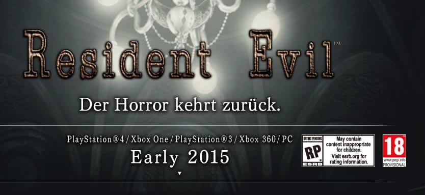Resident Evil: HD Remaster auch für Next Gen Konsolen