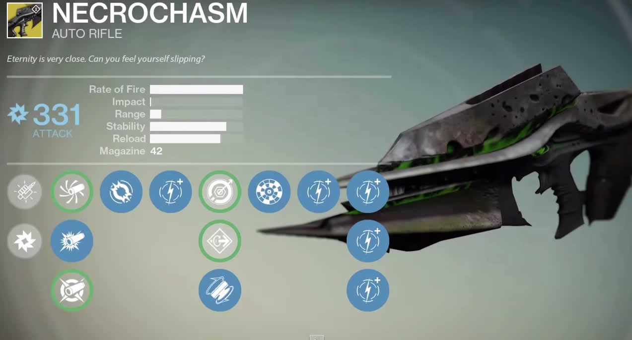destiny how to get necrochasm
