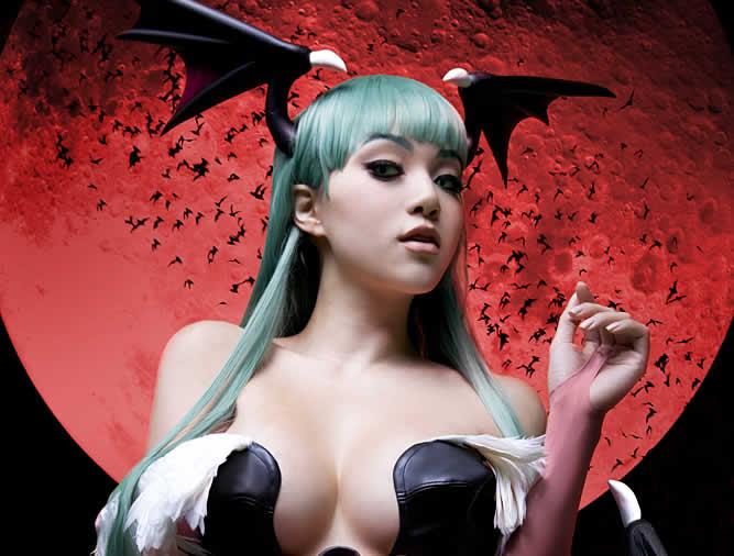 Cosplay Darkstalkers Linda Le