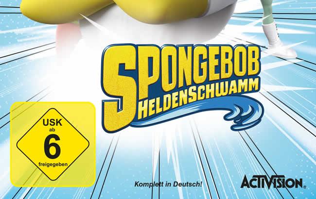 Activision und Nickelodeon kündigen SpongeBob™ HeroPants an