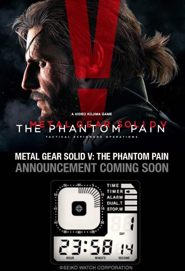 Metal Gear Solid 5: The Phantom Pain Release Date