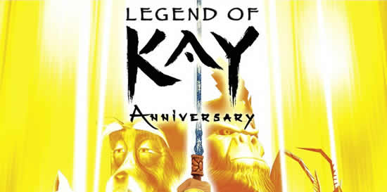 Legend of Kay Anniversary – PC Trainer +5