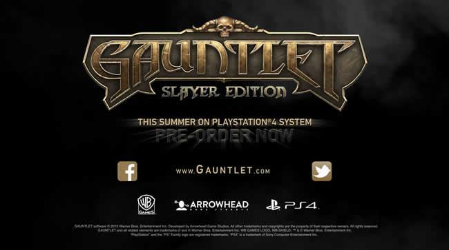 Gauntlet: Slayer Edition für PS4 angekündigt