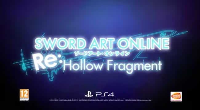 Sword Art Online Re: Hollow Fragment verschoben