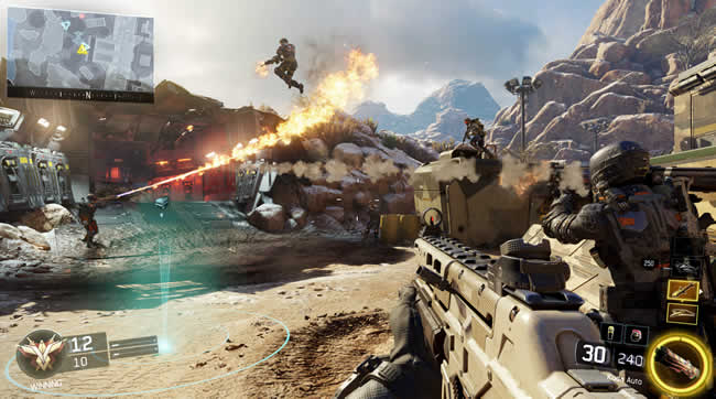 Call of Duty Black Ops 3: Update verfügbar - Neuer Multiplayer-Modus Call Of Duty Black Ops Maps on