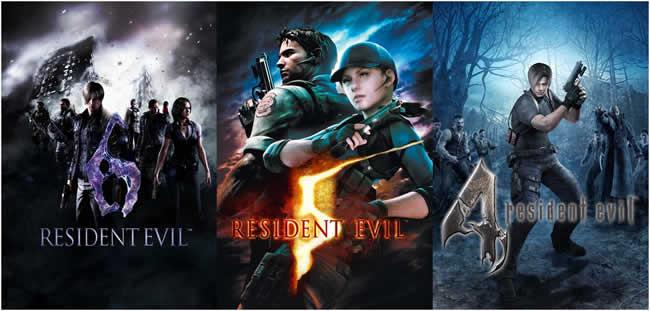 Resident Evil 4 bis 6 erscheinen für PS4 und Xbox One