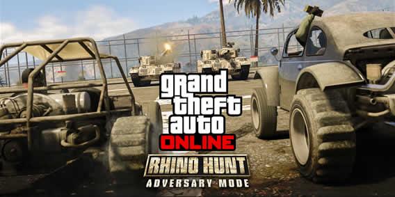 GTA 5 Online: Rhino Hunt Modus und Doppelt XP