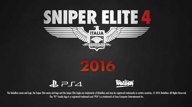 Sniper Elite 4 – Trainer +6 Download  V1.5.0 D …