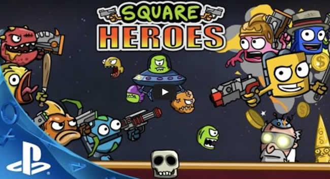 Square Heroes: Trophäen Trophies Leitfaden