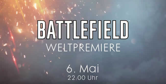 Battlefield 5: Weltpremiere ab 22 Uhr im Livestream