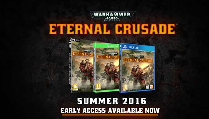 Warhammer 40k Eternal Crusade: Eldar Trailer veröffentlicht