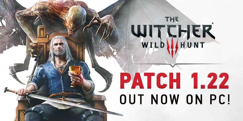 The Witcher 3: Patch 1.22 Changelog und Konsolen
