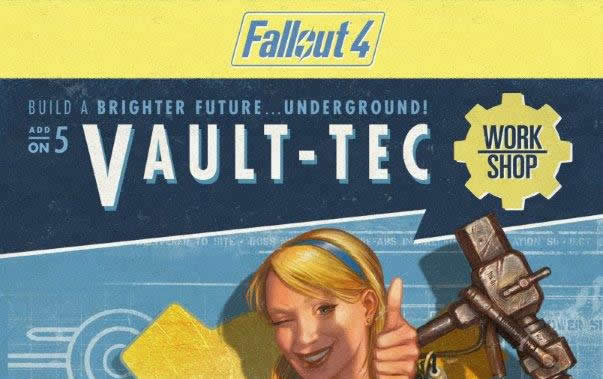 Fallout 4: Vault-Tec Workshop am Live auf Twitch