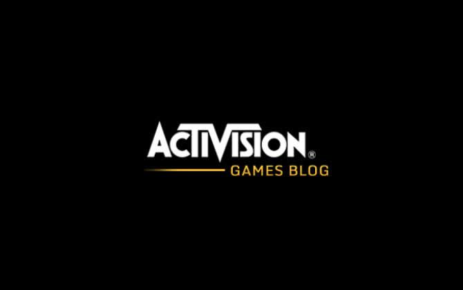Der Activision Games-Blog ist da
