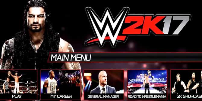 WWE 2K17  – Trainer +6 Download V1.06