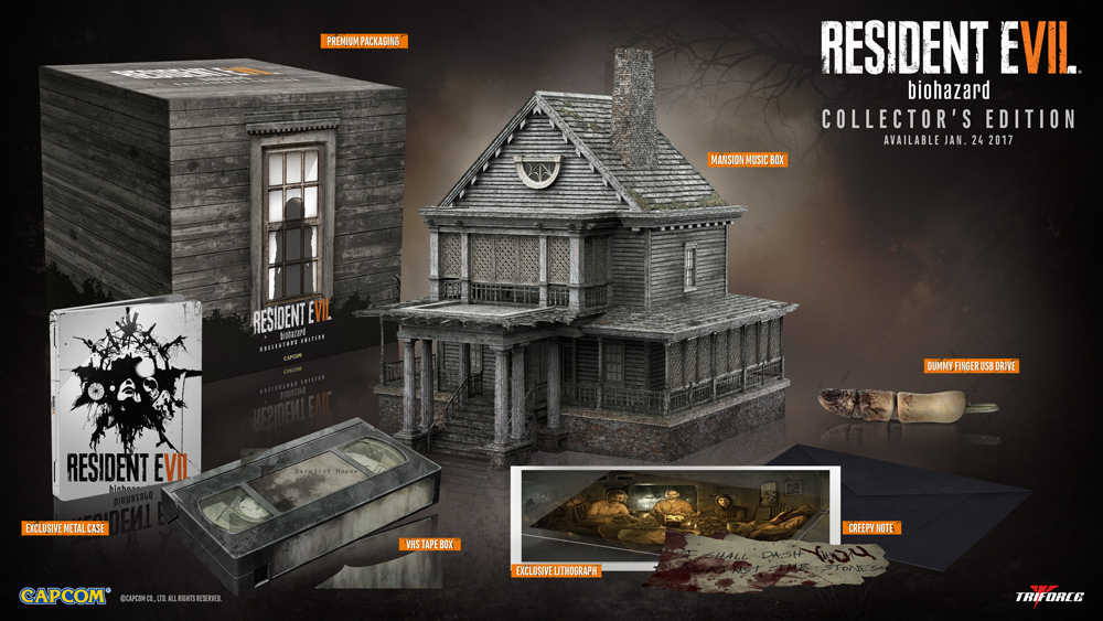 resident evil 7 collector edition