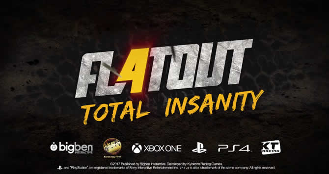 FlatOut 4 Total Insanity: Trainer +5 Download V1.00