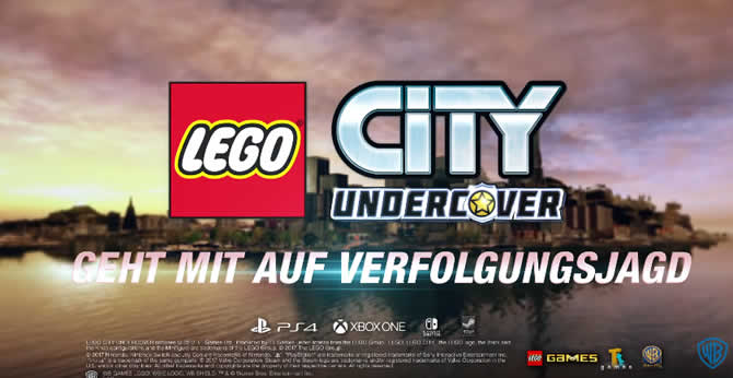 LEGO CITY UNDERCOVER – Trainer +2 Download V1.00