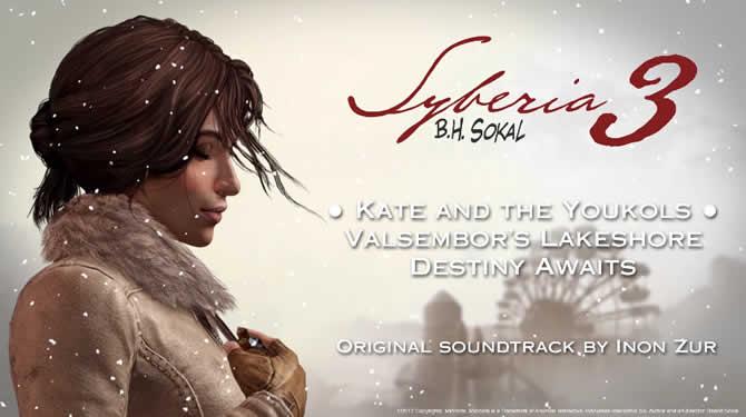 Syberia 3: Video mit Soundtrack von Inon Zur veröffentlicht
