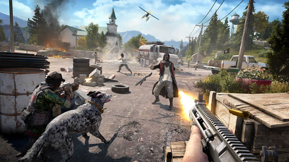 far cry 5 py leistung
