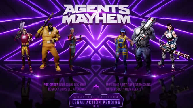 Agents of Mayhem – Trainer +10 Download V1.00