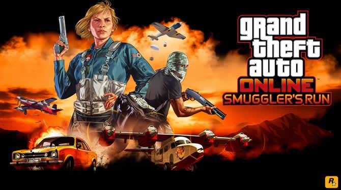 GTA 5 Online: Smuggler's Run veröffentlicht – N …