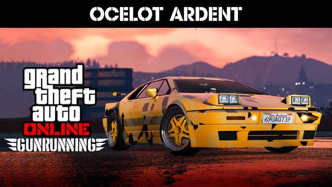 GTA Online: Ocelot Ardent – Neues Auto und Rabatte auf Bunker