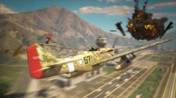 GTA Online: Neues Kampfflugzeug und Rabatte