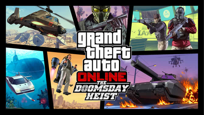 GTA 5 Online: The Doomsday Heist-Update veröffentli …
