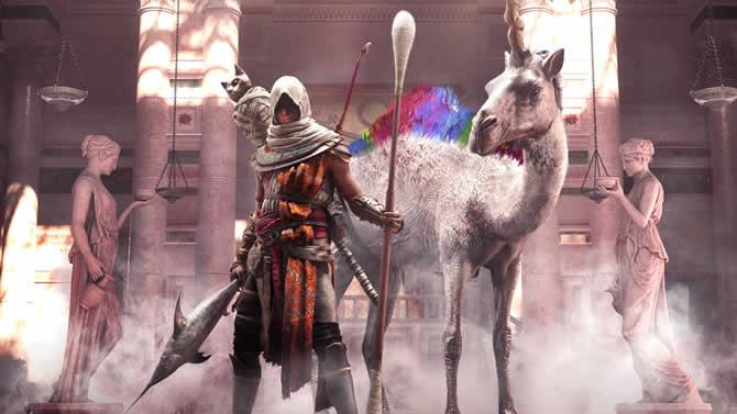 Assassins Creed Origins: Exzentriker-Paket, neues Reittier und Waffen