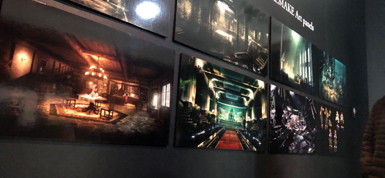 Final Fantasy VII Kunstart