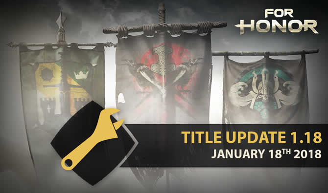 for honor patch 1.18
