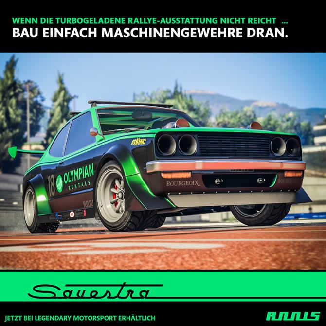 """GTA 5 Online: Neues Fahrzeug """"Annis Savestra"""" und weitere Boni veröffentlicht"""