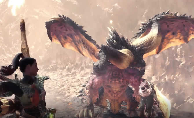 monster hunter world drachen trailer
