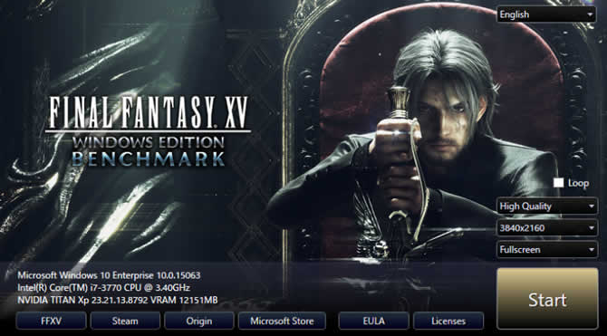 Final Fantasy XV: Windows Edition – Benchmark  …