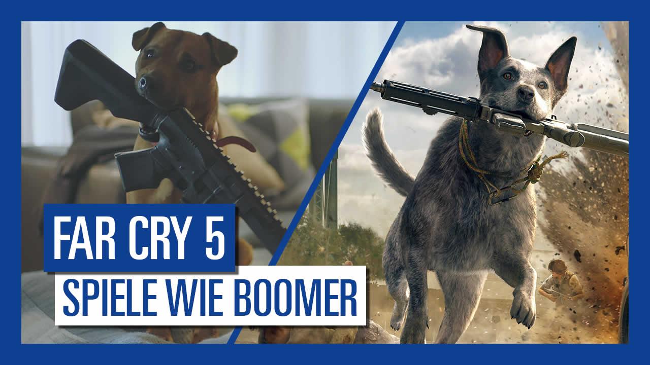 Far Cry 5: Ubisoft veröffentlicht Video zu Boomer dem Hund