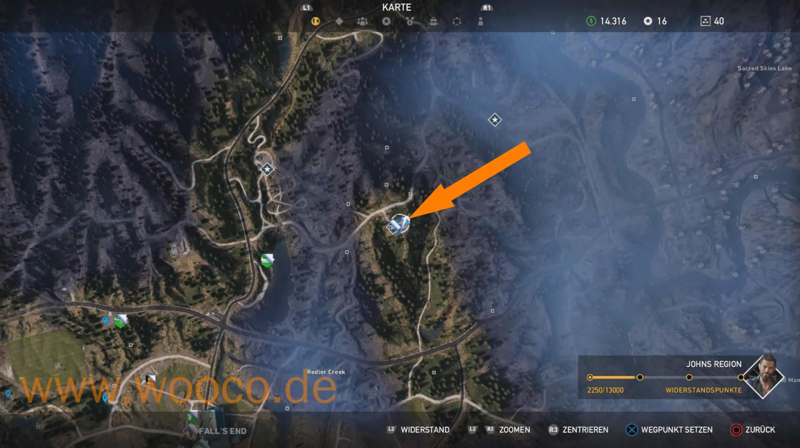 Akustische Wolfsköder Far Cry 5 Karte.Far Cry 5 Alle Comic Fundstücke Fundorte