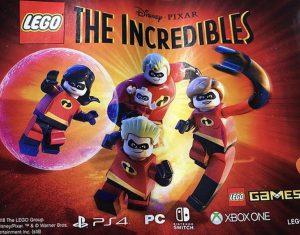 LEGO incredibles release