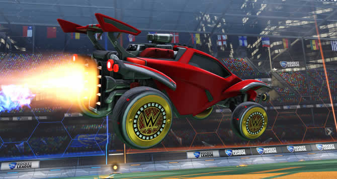 Rocket League Wrestlemania