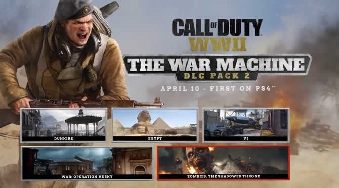 cod wwii the war machine news