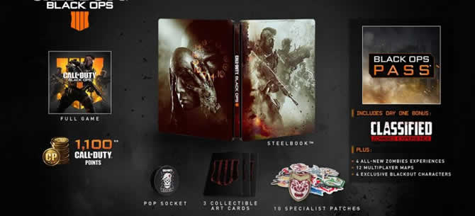 cod bo4 deluxe edition
